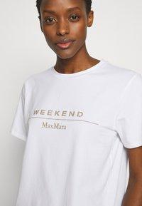 WEEKEND MaxMara - KABUKI - T-shirt print - weiss - 4