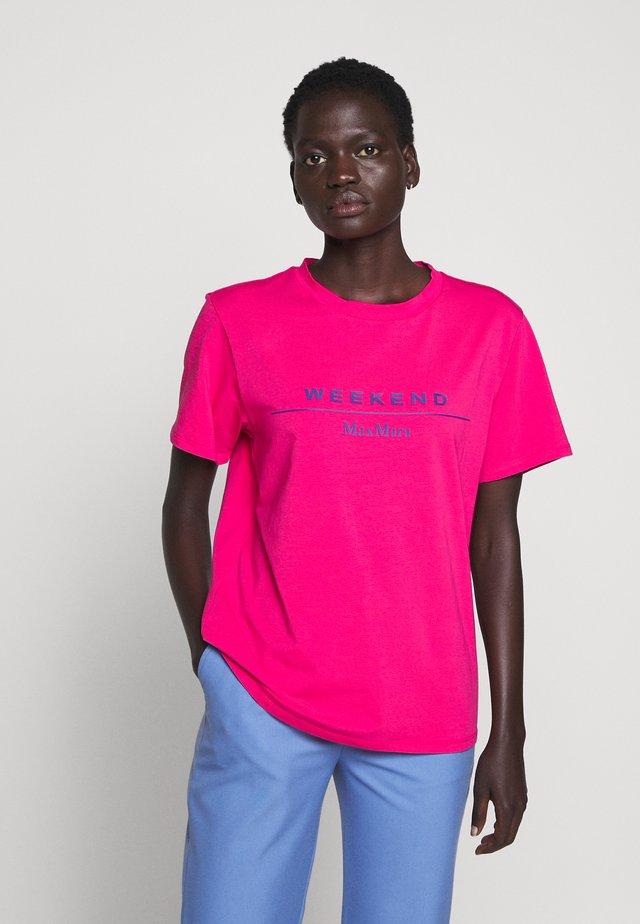 KABUKI - Triko spotiskem - pink