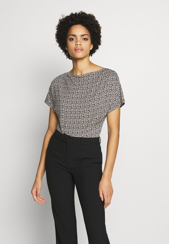 FOSCO - T-shirt med print - sand
