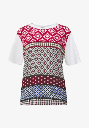 TRONTO - Print T-shirt - bordeaux
