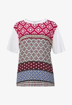TRONTO - Camiseta estampada - bordeaux