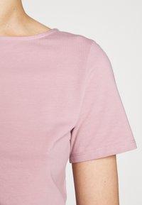 WEEKEND MaxMara - MULTIC - Jednoduché triko - light pink - 5