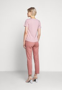 WEEKEND MaxMara - MULTIC - Jednoduché triko - light pink - 2