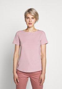 WEEKEND MaxMara - MULTIC - Jednoduché triko - light pink - 0