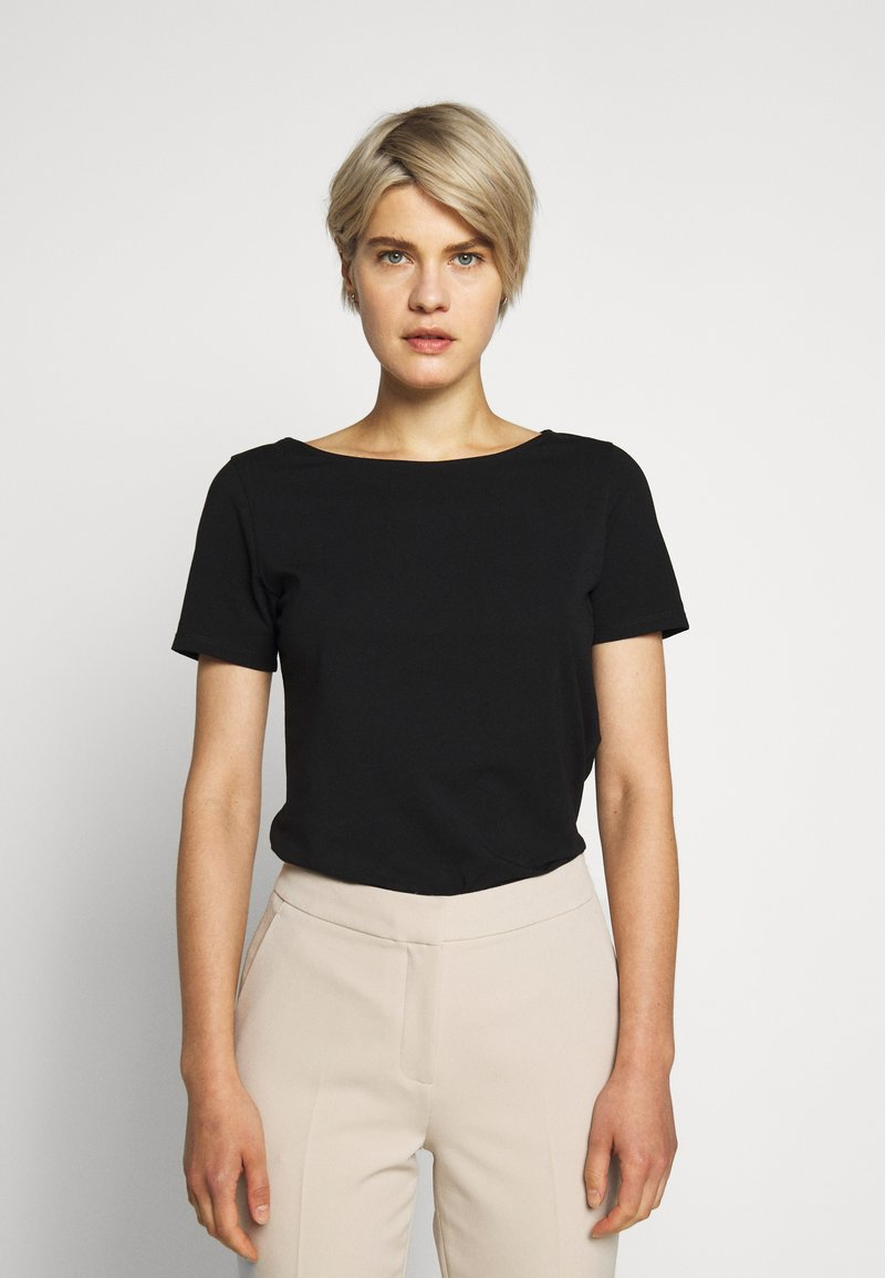 WEEKEND MaxMara - MULTIC - T-Shirt basic - schwarz