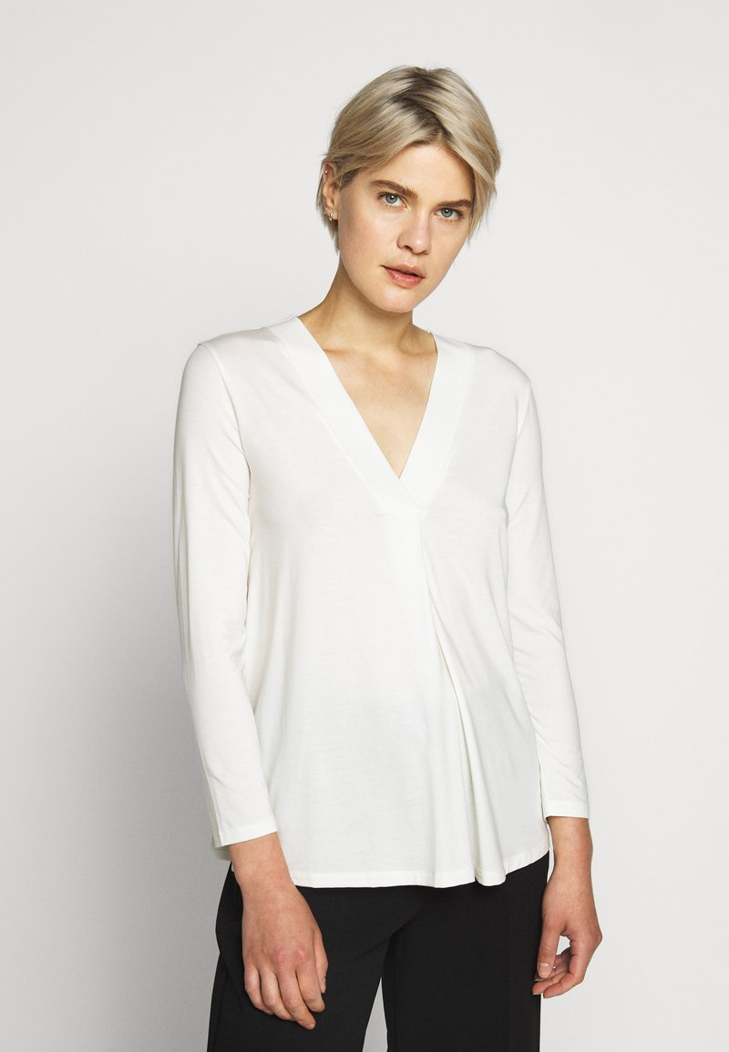 WEEKEND MaxMara - MULTIB - Long sleeved top - weiss