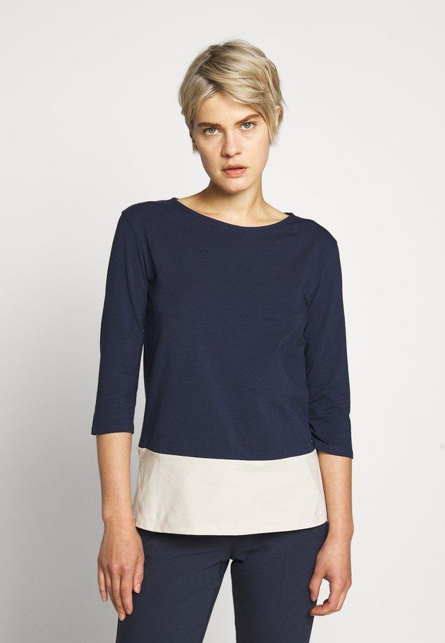 MULTIA - Langarmshirt - blau