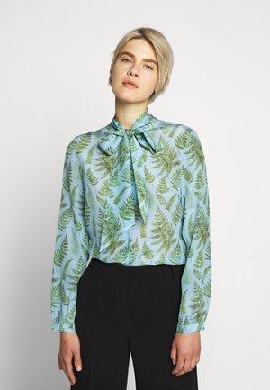 SPAGNA - Button-down blouse - light blue