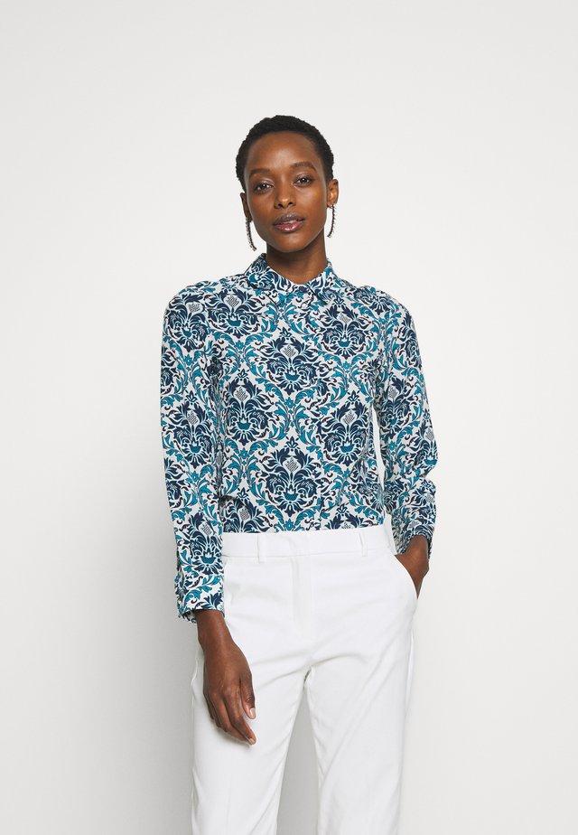 UGUALE - Button-down blouse - azurblau