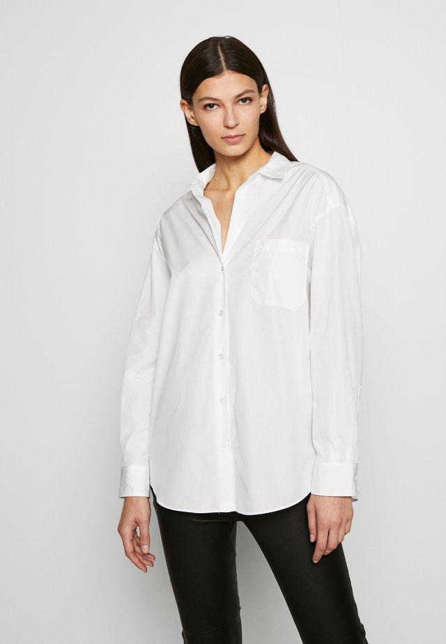 FERRARA - Button-down blouse - white