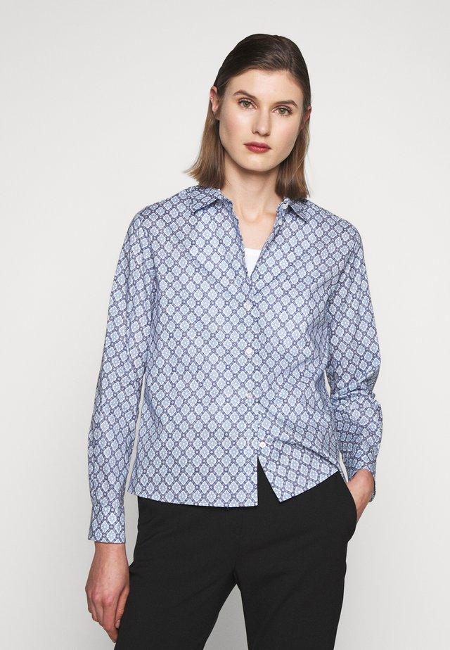 HIDALGO - Button-down blouse - azurblau