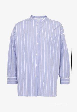 OVADA - Button-down blouse - azurblau