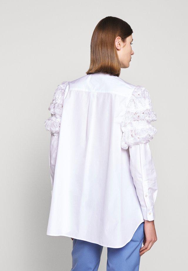 ARIO - Button-down blouse - weiss