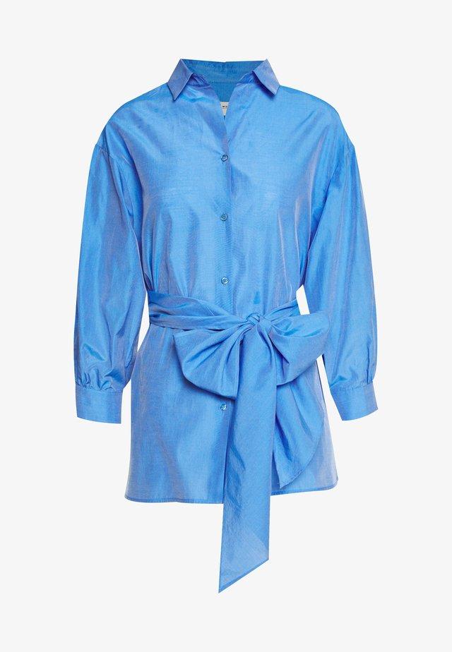 DANILO - Button-down blouse - azurblau