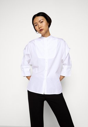 NATIVA - Button-down blouse - weiss