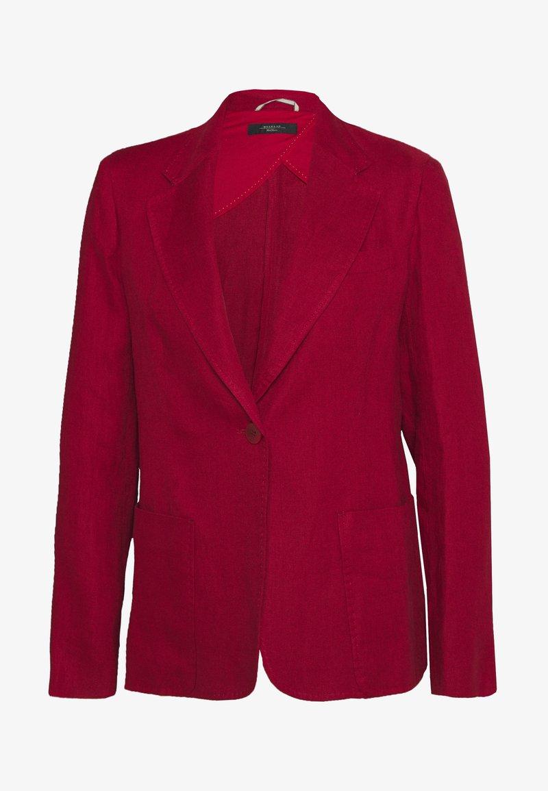 WEEKEND MaxMara - OFIDIO - Denim jacket - bordeaux