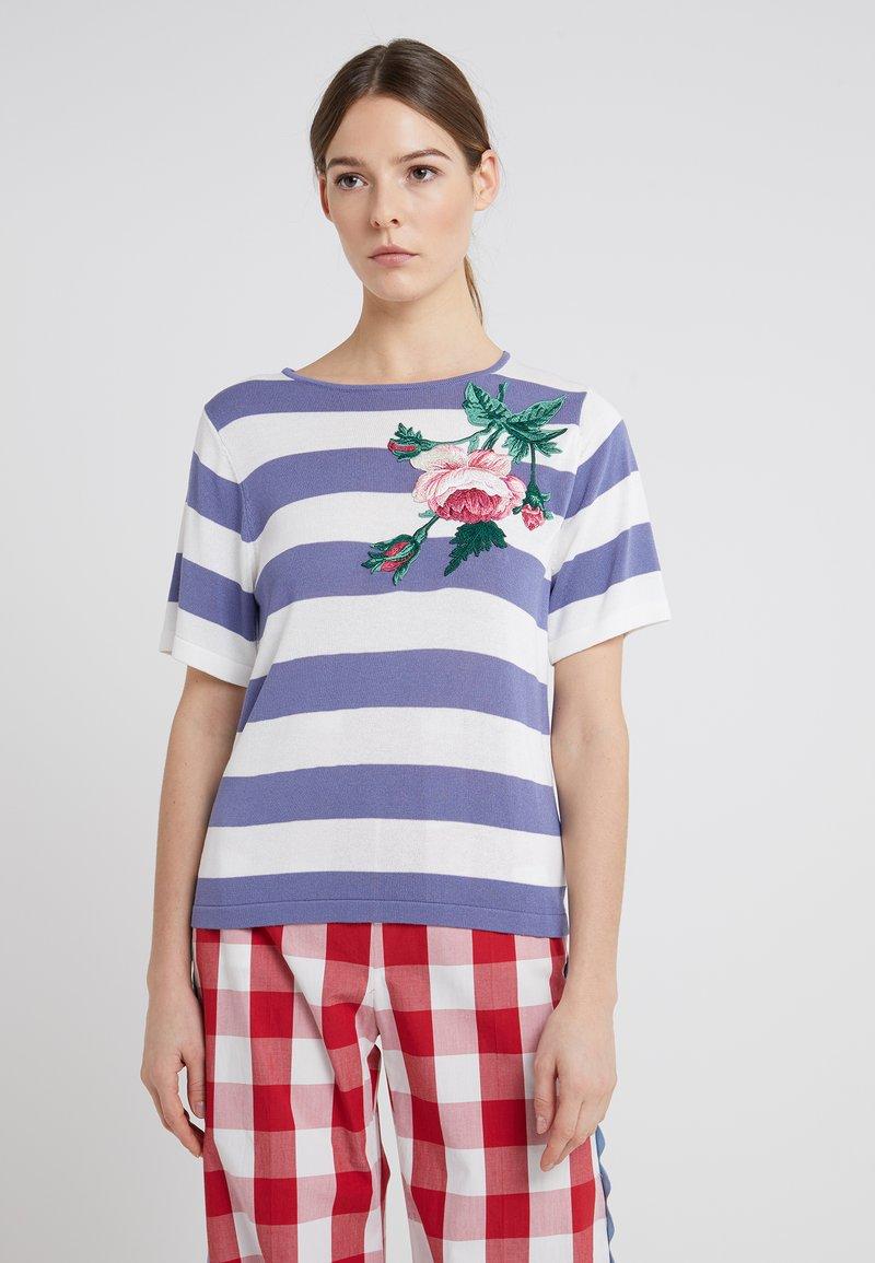 WEEKEND MaxMara - LEO - Print T-shirt - lichtblau