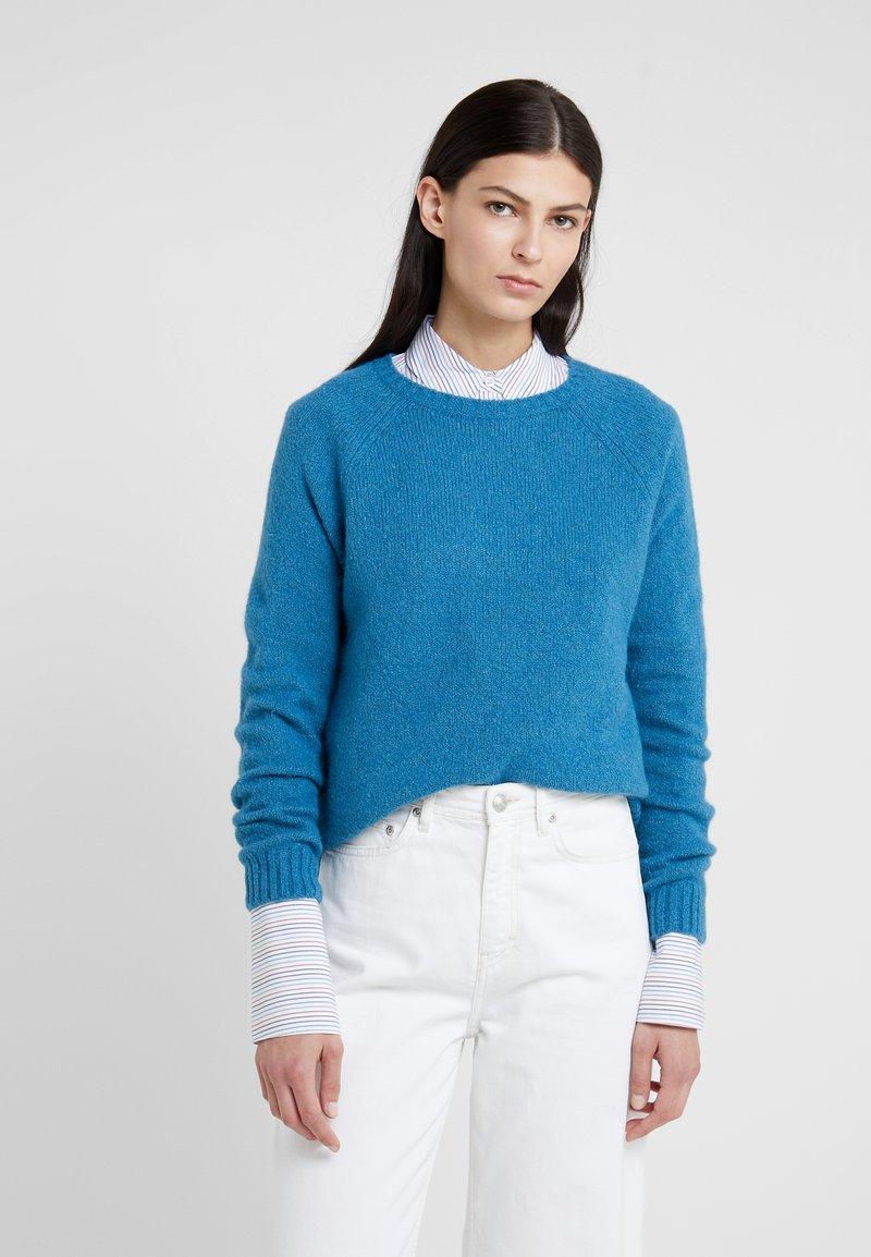 WEEKEND MaxMara - CALAMO - Sweter - azurblau