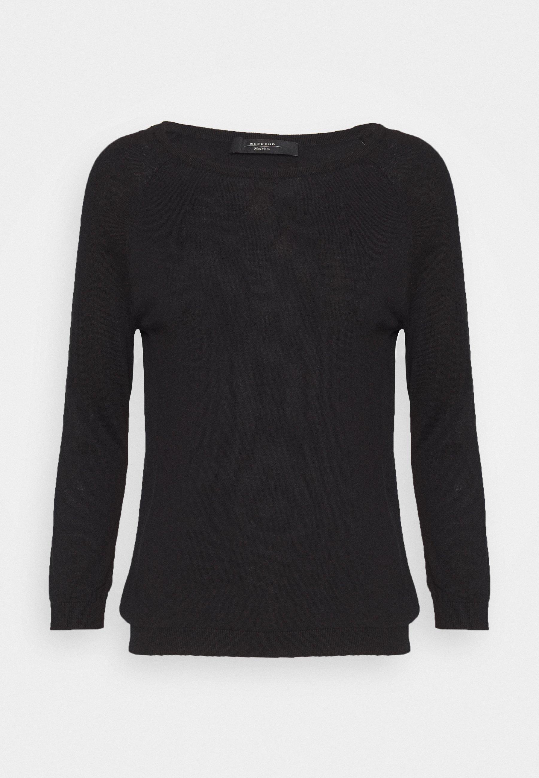 BANDA Stickad tröja schwarz