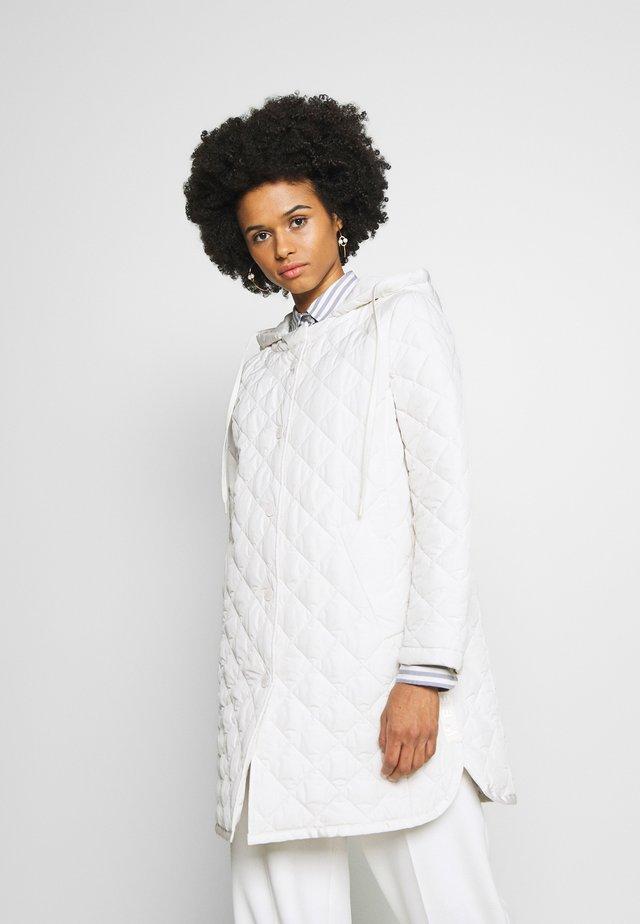 MICENEA - Classic coat - elfenbeinfarben
