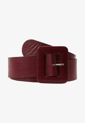 ANDALO - Waist belt - bordeaux
