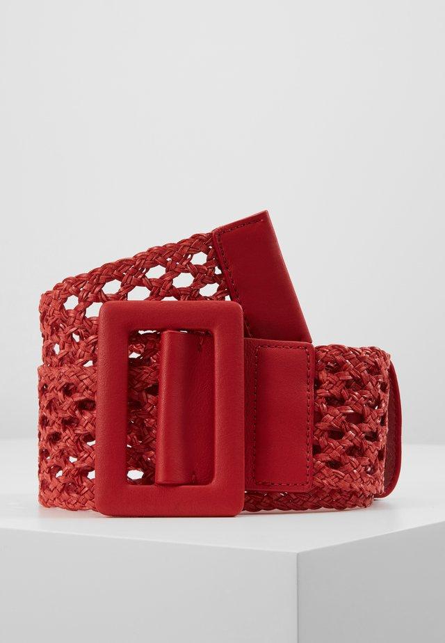 MERIS - Braided belt - kirsche