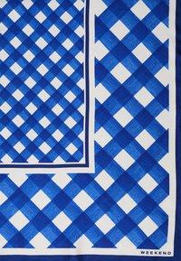 WEEKEND MaxMara - CARNET - Šátek - vichy azzurro - 1
