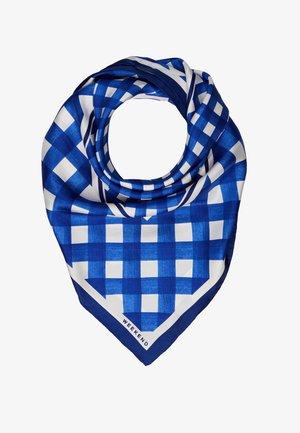 CARNET - Šátek - vichy azzurro
