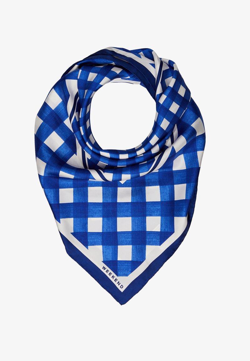 WEEKEND MaxMara - CARNET - Šátek - vichy azzurro