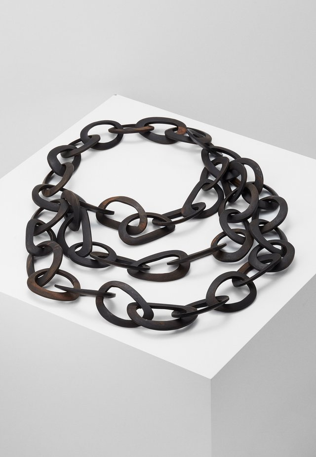 CHICCA - Necklace - brown