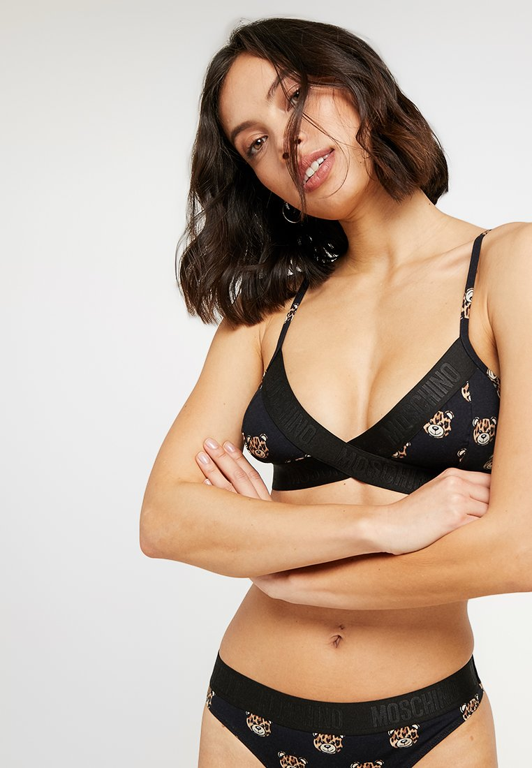 Moschino Underwear - BRA - Triangel BH - black