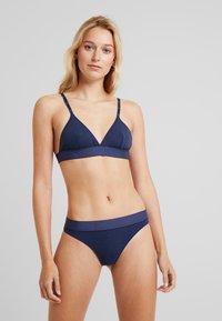Moschino Underwear - BRA - Triangle bra - blue jeans - 1