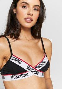 Moschino Underwear - BRA - Soutien-gorge triangle - black - 4