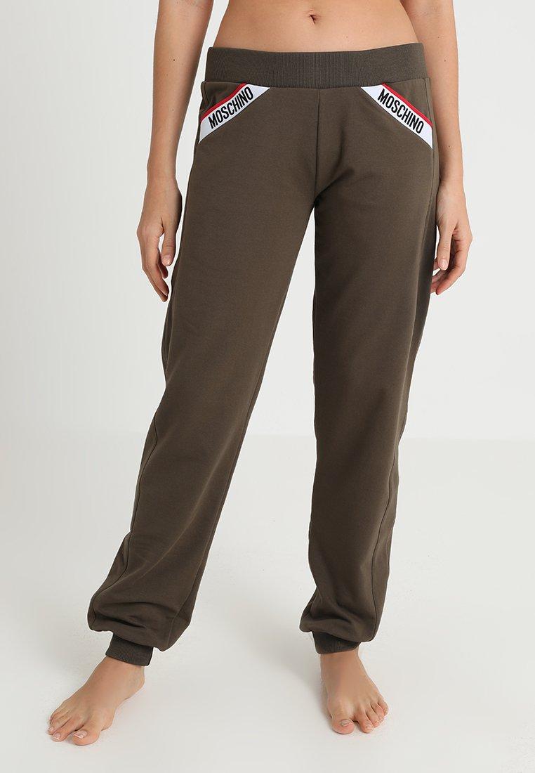 Moschino Underwear - JOGGERS - Pyjamasbukse - army