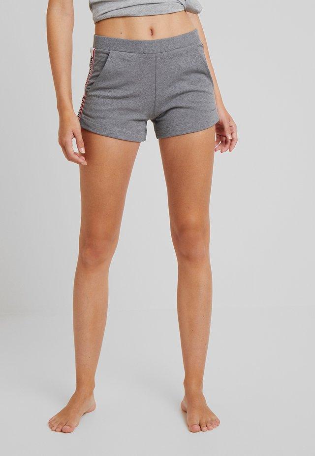 TROUSERS - Pyjamahousut/-shortsit - medium gray melange