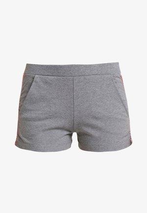 TROUSERS - Pantaloni del pigiama - medium gray melange