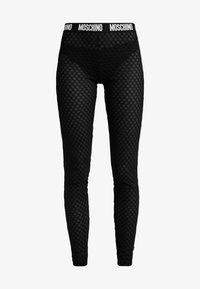 Moschino Underwear - LEGGINGS - Pantalón de pijama - black - 4