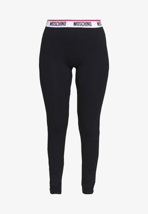 LEGGINGS - Pantaloni del pigiama - black