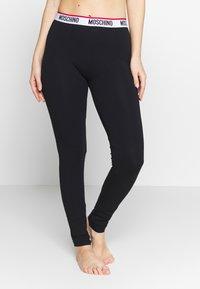 Moschino Underwear - LEGGINGS - Pantaloni del pigiama - black - 0