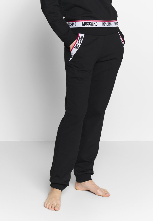 PANTS - Pyjamahousut/-shortsit - black