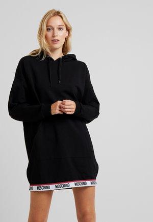 MAXI HOODIE - Pyjamasöverdel - black