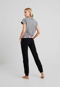 Moschino Underwear - SHORT SLEEVE - Maglia del pigiama - medium gray melange - 2