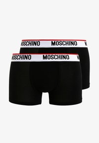 Moschino Underwear - 2 PACK - Boxerky - black - 4