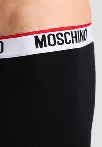 Moschino Underwear - 2 PACK - Boxerky - black - 3
