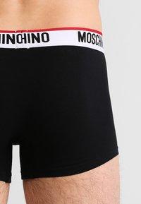 Moschino Underwear - 2 PACK - Boxerky - black - 2