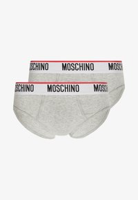 Moschino Underwear - 2 PACK - Briefs - grey