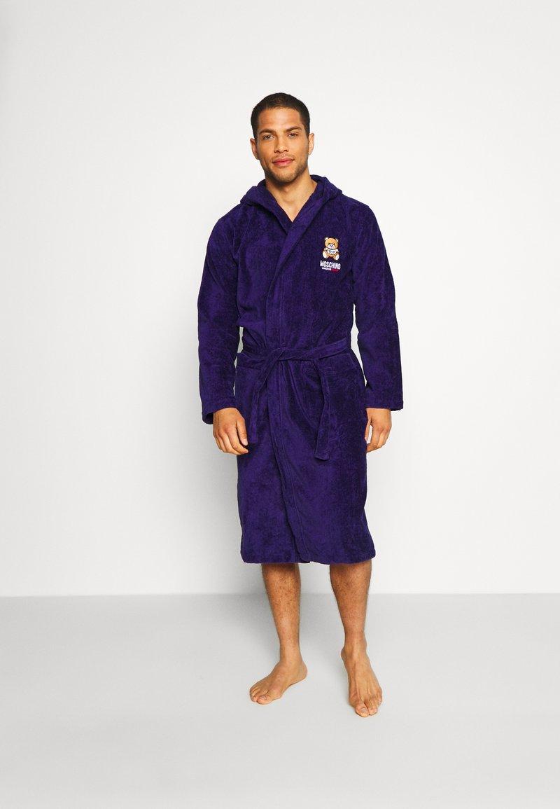 Moschino Underwear - ACCAPPATOIO - Župan - blue