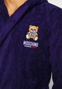 Moschino Underwear - ACCAPPATOIO - Župan - blue - 4
