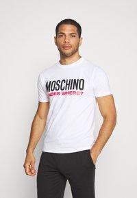 Moschino Underwear - Pyžamový top - bianco - 0