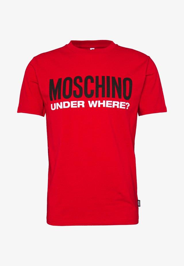 Nachtwäsche Shirt - rosso